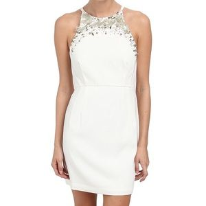 $268 French Connection New Moon Beaded Dress 6